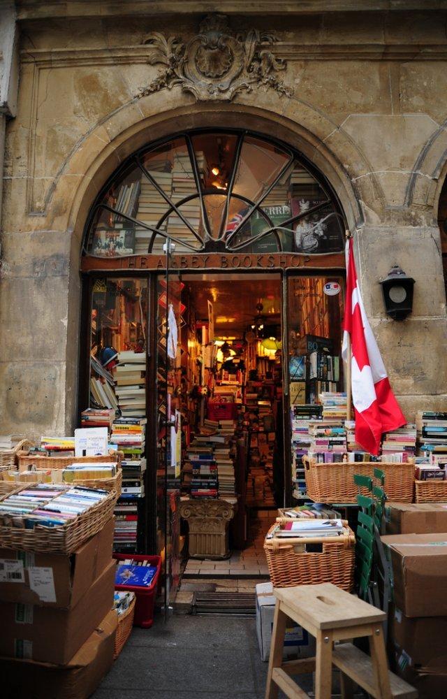Najljepše knjižare na svijetu - Page 3 The-abbey-bookshop-paris